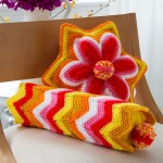 Brighter Days Pillows - Crochet