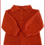 Crochet baby hexagon jacket with no holes: Free pattern and Tutorial
