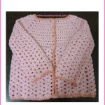 Little girl crochet cardigan: Free pattern and Tutorial