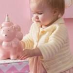 Cosy Baby Cardigan Crochet Pattern