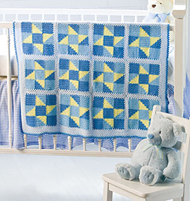 Crochet Blanket: Wish Upon a Star