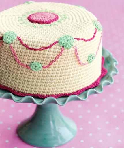 Crochet Cake Confection Pattern