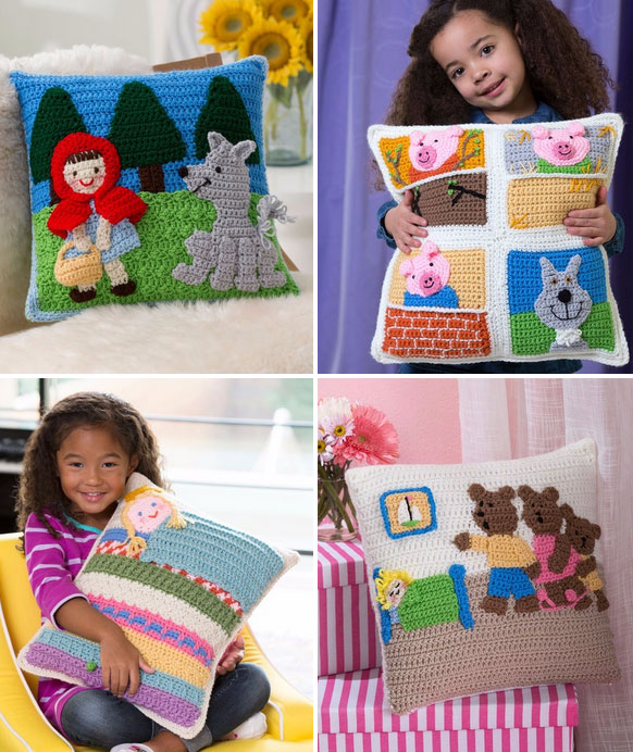 Fairy-tale Crochet Pillow Patterns