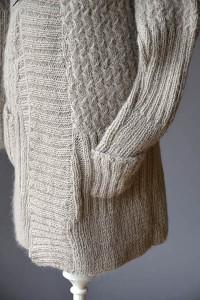 Fireplace Cardigan - Free Knitting Pattern 1