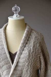 Fireplace Cardigan - Free Knitting Pattern 2