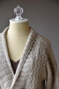 Fireplace Cardigan - Free Knitting Pattern 2