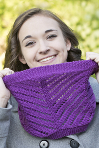 Floridian Cowl - Lace Knitting Pattern