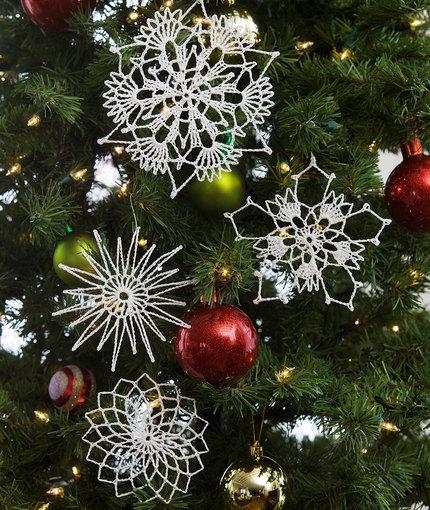 Flurry of Snowflakes - Crochet