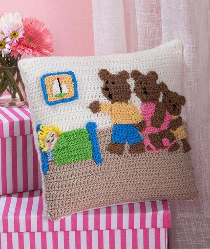 Fairy-tale Crochet Pillow Patterns