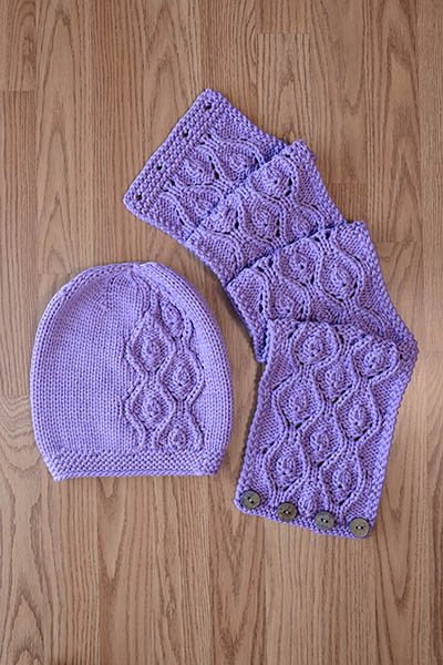 Idyll Hat and Cowl Knitting Pattern