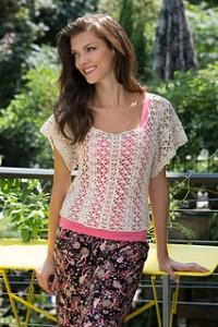 Lace Essence Top crochet pattern
