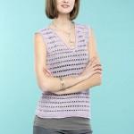 Ladders Tank - Free Crochet Top Pattern