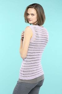Ladders Tank - Free Crochet Top Pattern 2
