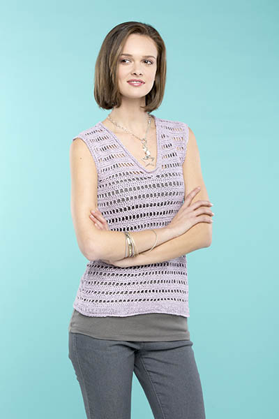 Ladders Tank - Free Crochet Top Pattern