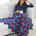 Patriotic Pride Throw - Crochet Blanket Pattern