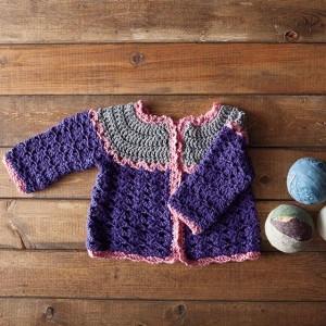 Patty Cake Crochet Cardi