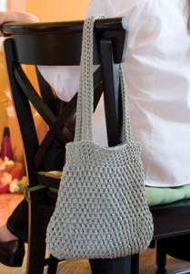 Pistachio Bag  - Free Crochet Bag Pattern