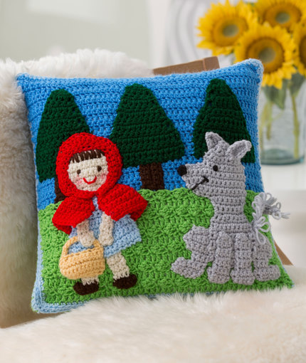 Red Riding Hood Pillow