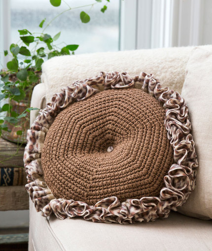 Crochet Patterns Pillows : Rumba Pillow Crochet Pattern