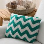 Seaside Pillow Crochet Pattern