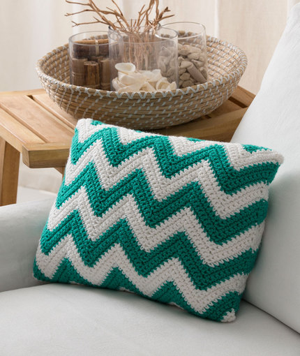 Seaside Pillow Crochet Pattern
