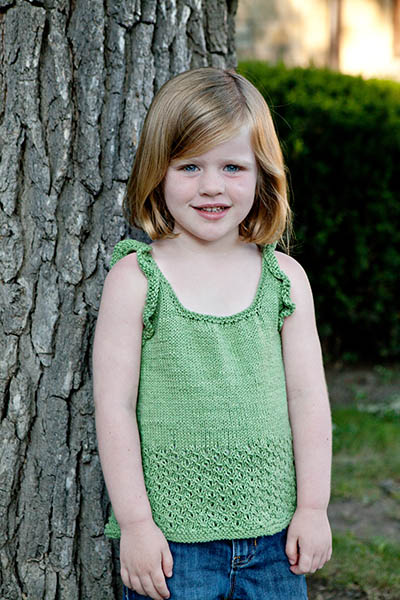 Sprout Tank Knitting Pattern Free Knitting Bee