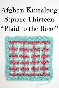 Square 13 - Plaid to the Bone