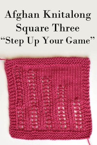 Square 3 - Step Up Your Game
