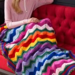 Stunning Rippling Throw - Free Crochet