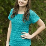 Sunseeker Shade Paulina - Lace Knitted Top Pattern