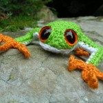 Tree frog - Crochet Tutorial