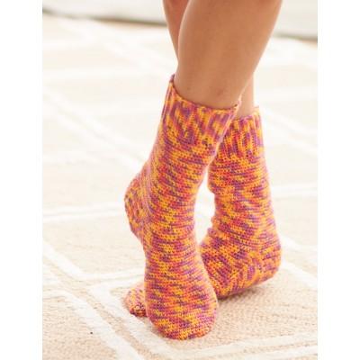 Basic Sock Crochet Pattern
