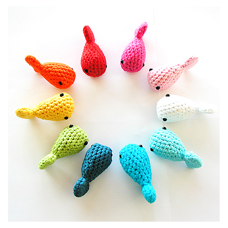 Free Fish Crochet Toy Patterns Knitting Bee 2 Free Knitting