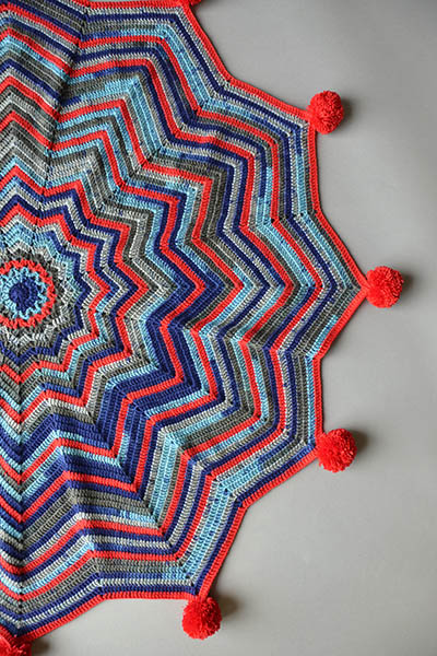 Crochet Baby Blanket ⋆ Knitting Bee 13 Free Knitting