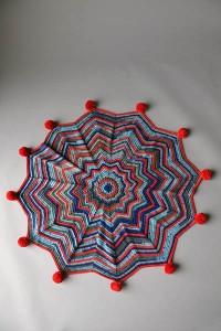 firework blankie free knitting pattern 2