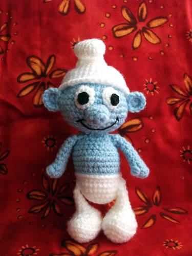Free Smurf crochet pattern Patterns ⋆ Knitting Bee (1 free knitting ...