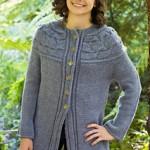 Eco + Bayside Cardigan - free knitting pattern
