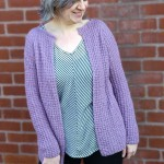 AMETRINE - Free Women's Cardigan Knitting Pattern