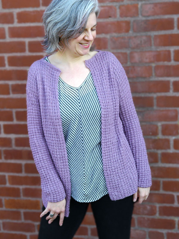 AMETRINE - Free Women\'s Cardigan Knitting Pattern ⋆ Knitting Bee
