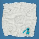 Free Knitting Pattern: Aran Sampler Baby Blanket