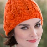Bright Cable Hat Knitting Pattern