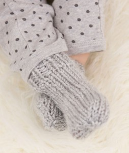 Cute Baby Socks Free Knitting Pattern