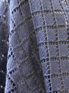 Dorothea - Diamond Lace Shawl Knitting Pattern Free 1