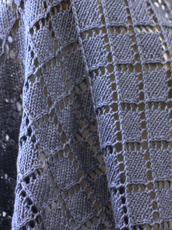 Dorothea Diamond Lace Shawl Knitting Pattern Free ⋆ Knitting Bee Mesmerizing Diamond Knitting Pattern
