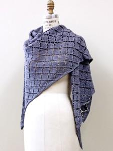 Dorothea - Diamond Lace Shawl Knitting Pattern Free
