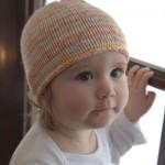 Dreambaby DK Paintpot Striped Baby Hat