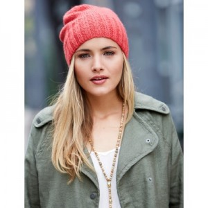 Effortless Beanie - Free Knitting Pattern