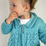 Here's My Heart Cardi - Knitting Pattern