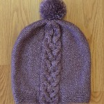 Lucky Four Hat - free Knitting Pattern