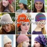 Top 20 Free Beanie Knitting Patterns